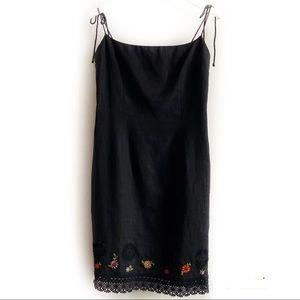 VNTG Laundry by Shelli Segal Vintage Strappy Dress